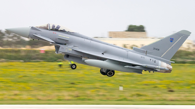ZR406 - Eurofighter Typhoon EF2000 - Oman - Royal Air Force