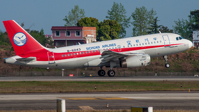 B-6043 - Airbus A319-133 - Sichuan Airlines