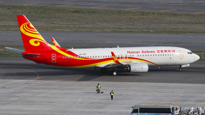 A picture of B1727 - Boeing 73784P - Hainan Airlines - © SEN BAI