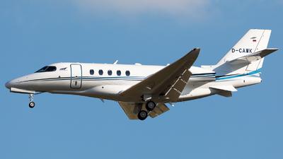 D-CAWK - Cessna Citation Latitude - Aerowest