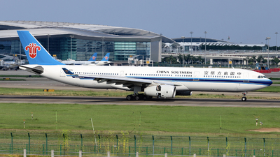A picture of B300U - Airbus A330343 - China Southern Airlines - © nibrage
