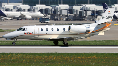 D-CEHM - Cessna 560XL Citation XLS+ - Silver Cloud Air