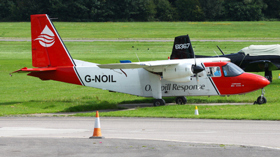 G-NOIL - Britten-Norman BN-2A-26 Islander - Cobham Aviation Services
