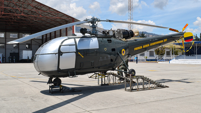 FAE367 - Aérospatiale SA 316B Alouette III - Ecuador - Air Force