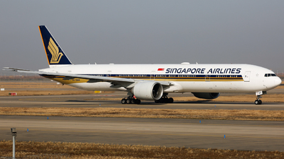 9V-SWK - Boeing 777-312ER - Singapore Airlines