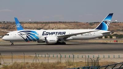 SU-GEU - Boeing 787-9 Dreamliner - EgyptAir
