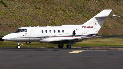 PR-WSW - Raytheon Hawker 800 - Private