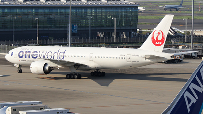 JA708J - Boeing 777-246(ER) - Japan Airlines (JAL)