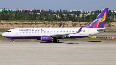 B-2158 - Boeing 737-84P - Urumqi Air