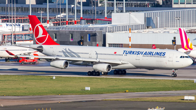 TC-JII - Airbus A340-313X - Turkish Airlines