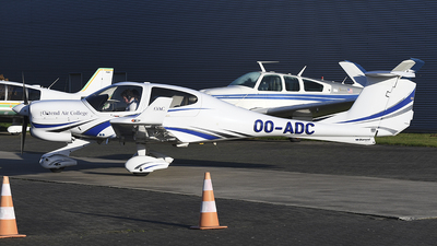 OO-ADC - Diamond DA-40NG Diamond Star - Ostend Air College