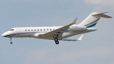 PA-9834 - Bombardier BD-700-1A11 Global 5000 - Private