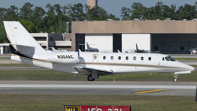 N304AC - Cessna 680 Citation Sovereign - Private