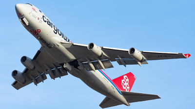LX-OCV - Boeing 747-4R7F(SCD) - Cargolux Airlines International