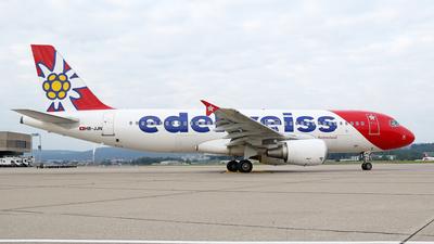 A picture of HBJJN - Airbus A320214 - Edelweiss Air - © Lukas Schneider
