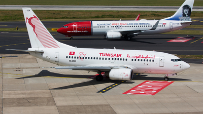 A picture of TSIOK - Boeing 7376H3 - Tunisair - © Thomas Ernst