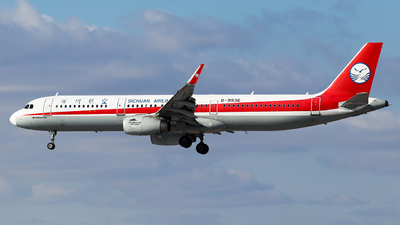 A picture of B9936 - Airbus A321231 - Sichuan Airlines - © King Wang