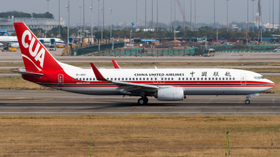 B-1465 - Boeing 737-89P - China United Airlines