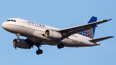 A picture of N805UA - Airbus A319131 - United Airlines - © Martin Pinnau