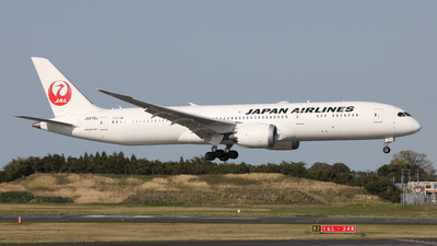 A picture of JA878J - Boeing 7879 Dreamliner - Japan Airlines - © Daisuke