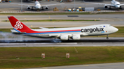 LX-VCI - Boeing 747-8R7F - Cargolux Airlines International