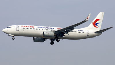 A picture of B5701 - Boeing 73789P - China Eastern Airlines - © XPHNGB
