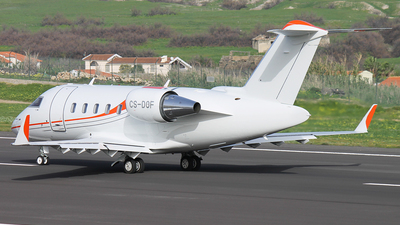 CS-DOF - Bombardier CL-600-2B16 Challenger 605 - Private