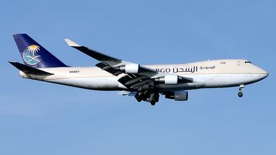 N491EV - Boeing 747-412F(SCD) - Saudi Arabian Airlines Cargo