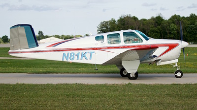 N81KT - Beechcraft 35 Bonanza - Private