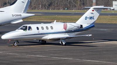 D-IWIL - Cessna 525 CitationJet 1 - Private