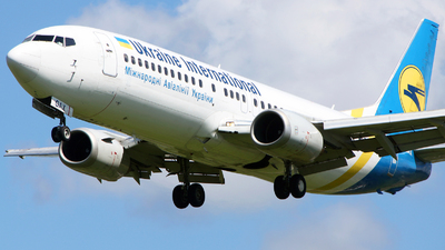 UR-GAX - Boeing 737-4Y0 - Ukraine International Airlines