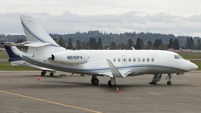 N515PV - Dassault Falcon 2000EX - Private