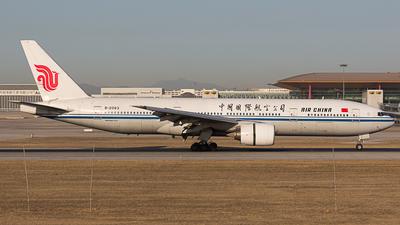 B-2063 - Boeing 777-2J6 - Air China