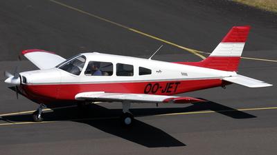 OO-JET - Piper PA-28-161 Warrior III - Brussels Aviation School