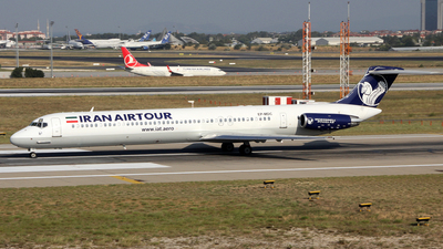 EP-MDC - McDonnell Douglas MD-82 - Iran Air Tours