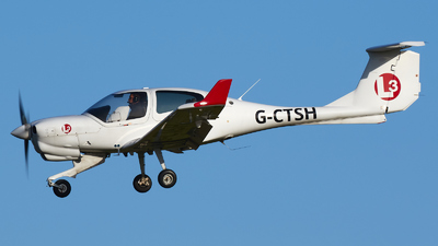 G-CTSH - Diamond DA-40NG Diamond Star - L3 European Airline Academy