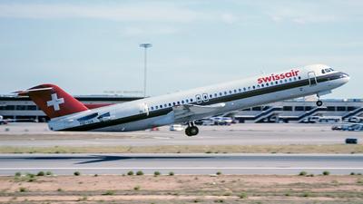 HB-IVA - Fokker 100 - Swissair