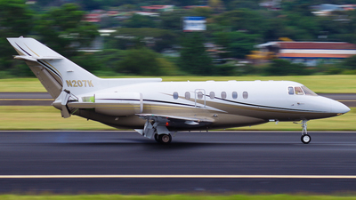 N207K - Raytheon Hawker 1000 - Private