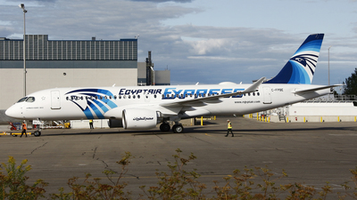 C-FPBE - Airbus A220-300 - EgyptAir Express