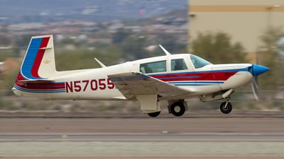 N57055 - Mooney M20K - Private