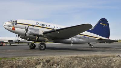 N54514 - Curtiss C-46D Commando - Everts Air Cargo