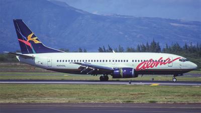 N304AL - Boeing 737-3Y0 - Aloha Airlines