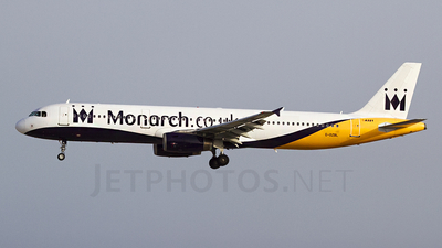 G-OZBL - Airbus A321-231 - Monarch Airlines