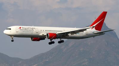 A picture of VPBLC - Boeing 7673Q8(ER) - Royal Flight - © Jubilant Chan - AHKGAP