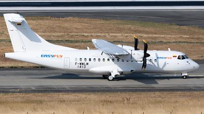 F-WWLM - ATR 42-600 - EasyFly