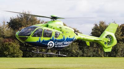 G-GWAC - Eurocopter EC 135T2+ - Babcock Mission Critical Services Onshore