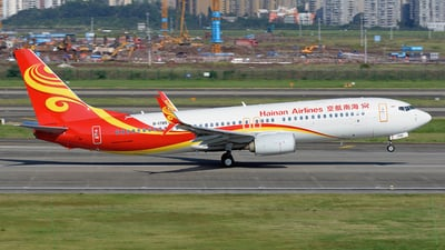 A picture of B1785 - Boeing 73784P - Hainan Airlines - © BCG554