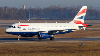 G-EUOD - Airbus A319-131 - British Airways