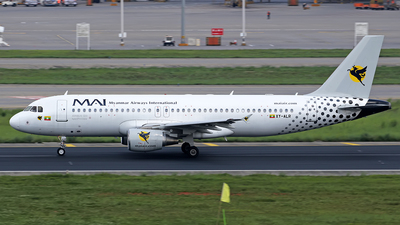 A picture of XYALR - Airbus A320214 - Myanmar Airways International - © lihutao
