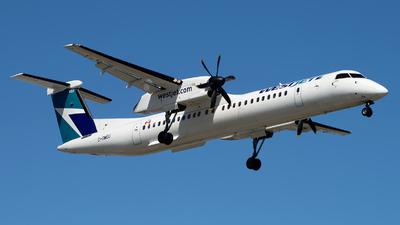 C-GWEU - Bombardier Dash 8-Q400 - WestJet Airlines
